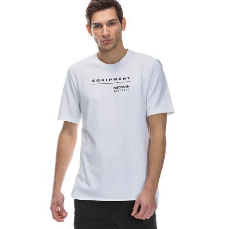 adidas Equipment Logo Tee Kadın Beyaz Tshirt
