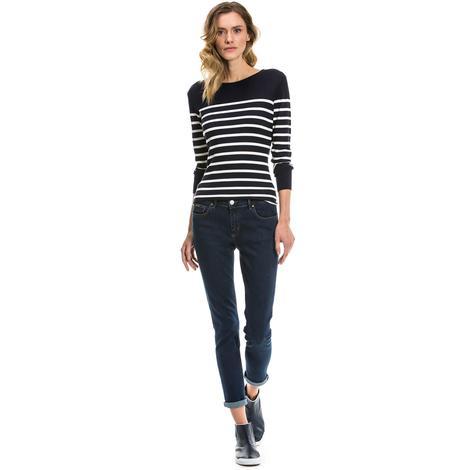 Nautica Kadın Mavi Slim Fit Jean Pantolon