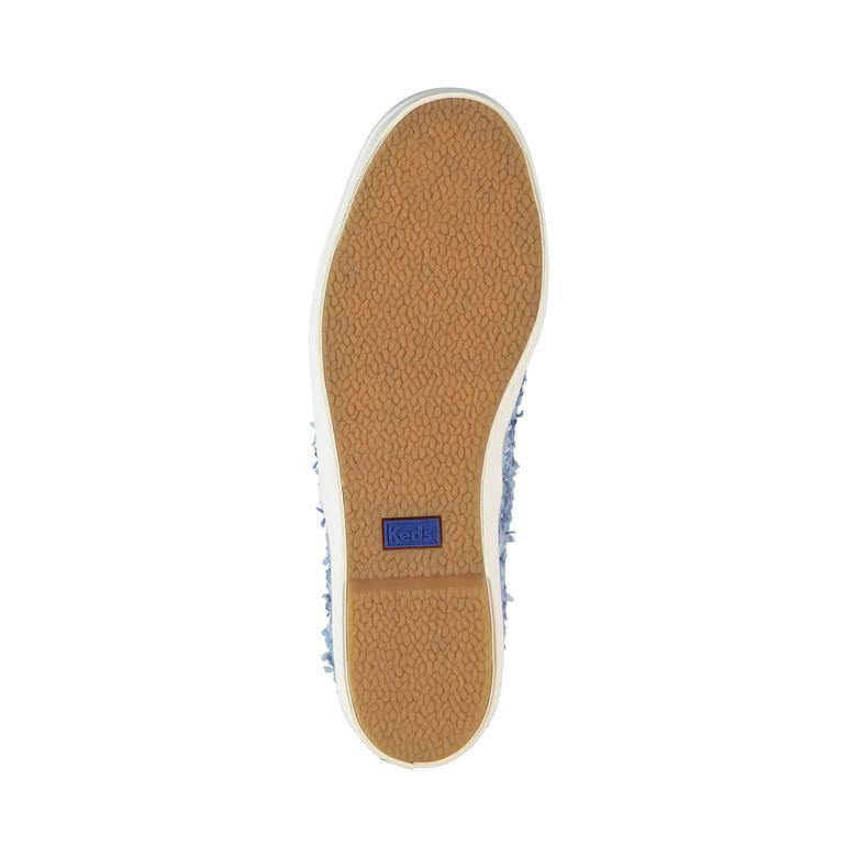 Triple Kadın Mavi Sneaker