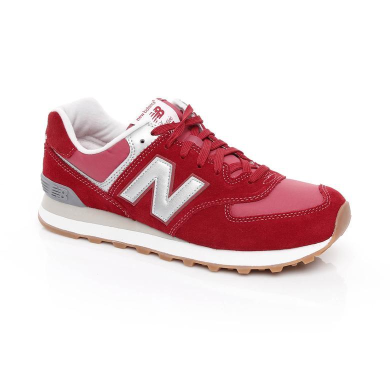 New Balance 574 Erkek Kırmızı Sneaker