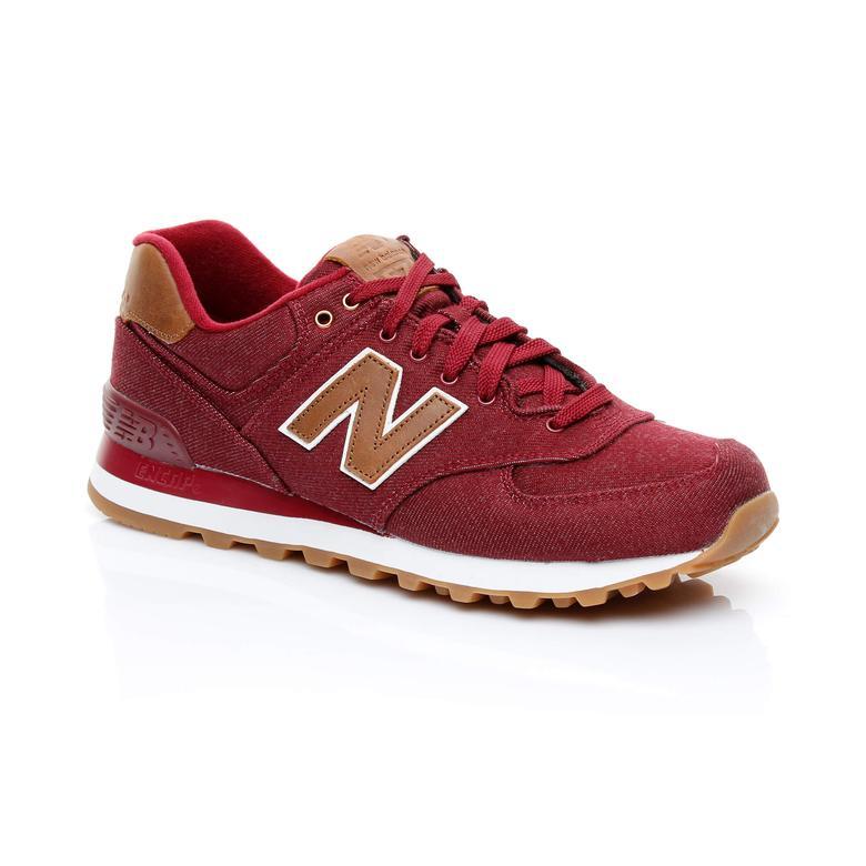 New Balance 574 Erkek Bordo Sneaker