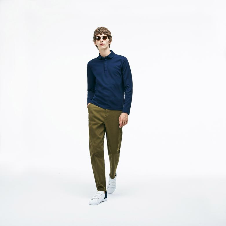 Lacoste Erkek Lacivert Regular Fit Polo