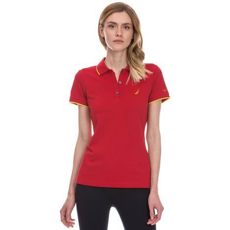 Nautica Kadın Kırmızı Polo