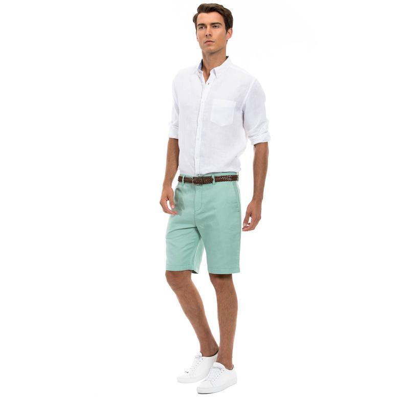 Nautica Erkek Regular Fit Yeşil Şort