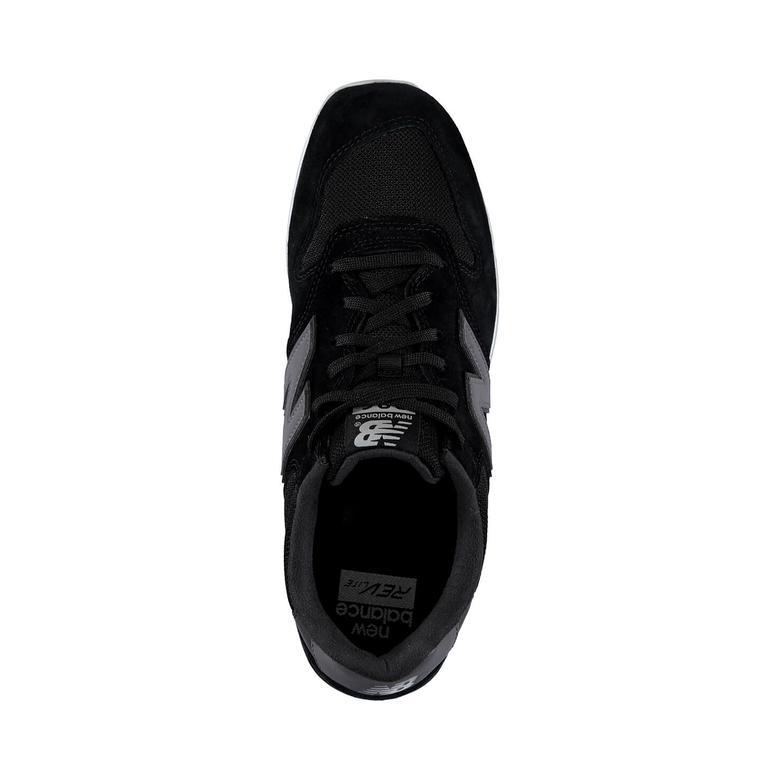 996 Siyah Erkek Ayakkabı