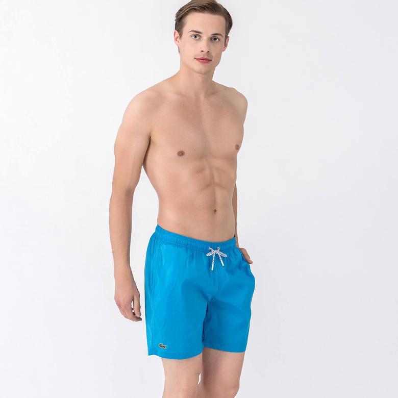 Lacoste Erkek Mavi Mayoşort