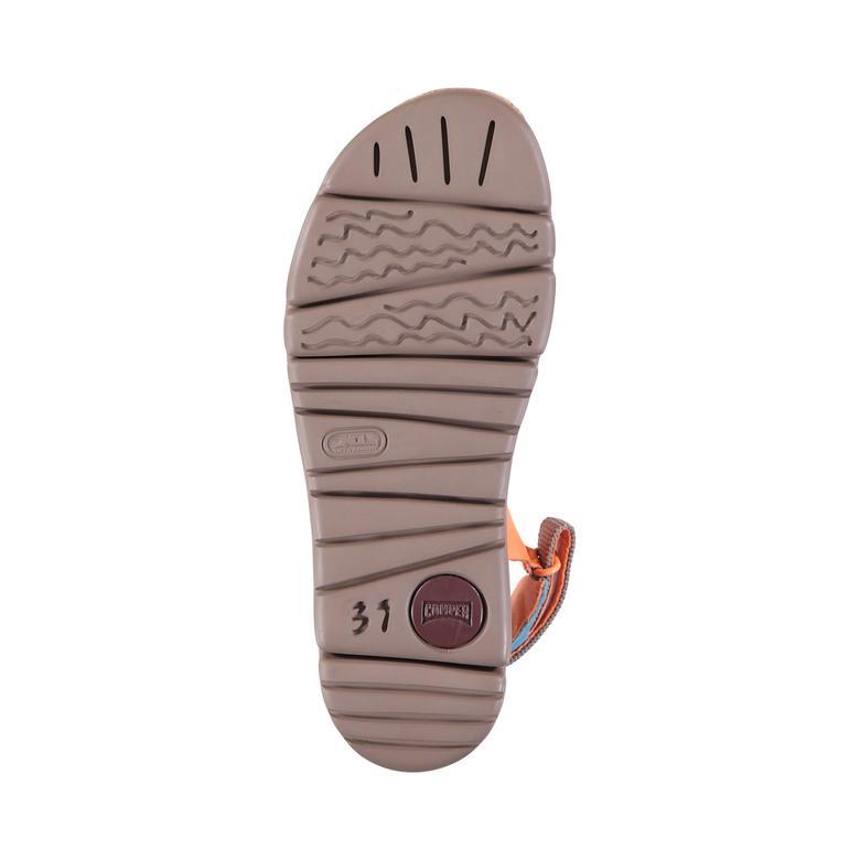 Camper Oruga Sandal Kadın Turuncu Sandalet