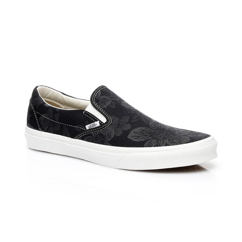 Ua Classic Slip-On Erkek Siyah Sneakers