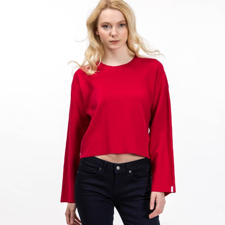Lacoste Kadın Kırmızı Bluz