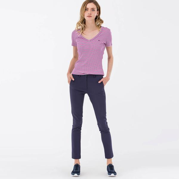 Lacoste Sportswear Kadın Lacivert Pantolon