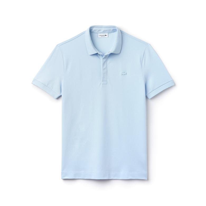 Lacoste Erkek Regular Fit Mavi Paris Polo
