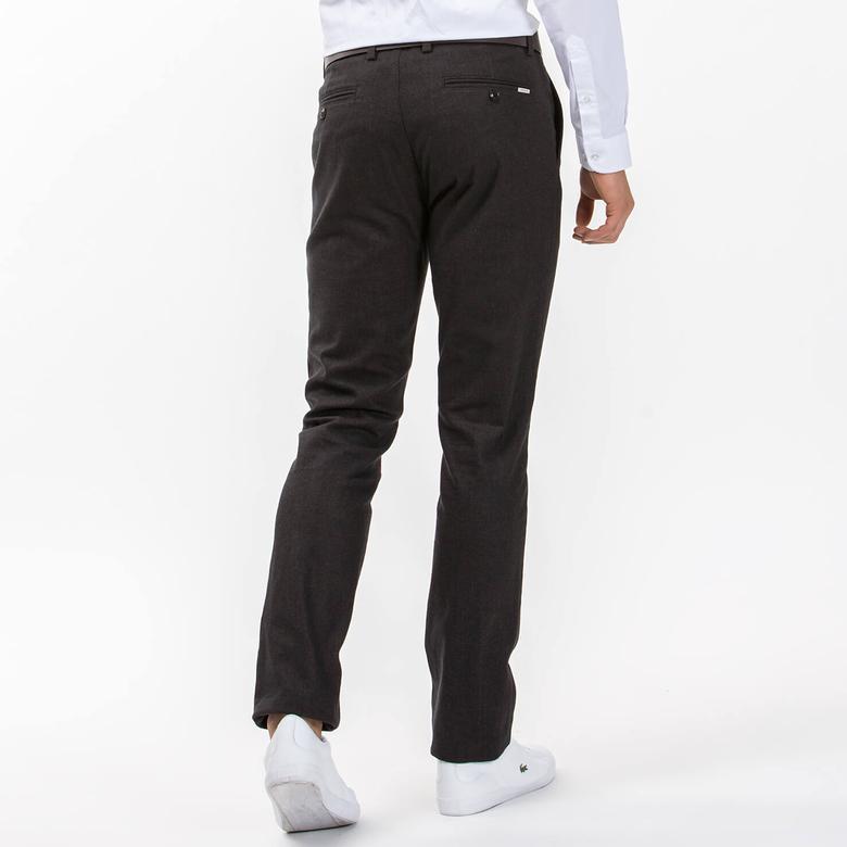 Lacoste Erkek Slim Fit Kahverengi Pantolon
