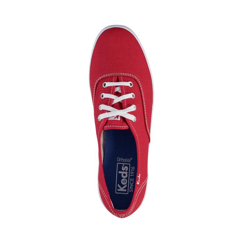 Keds Champion Canvas Original Kadın Kırmızı Sneaker