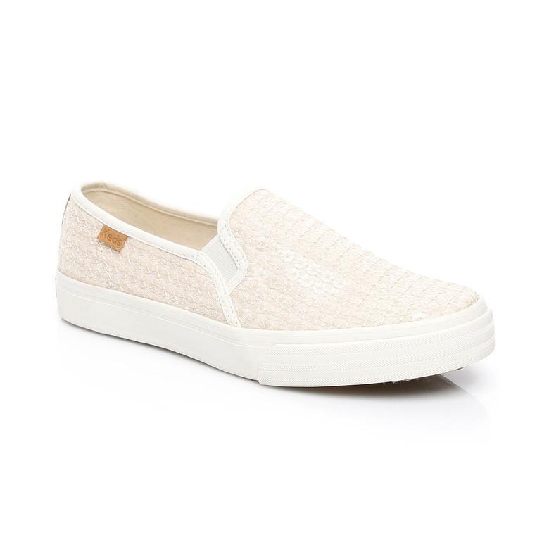 Keds Double Kadın Krem Sneaker