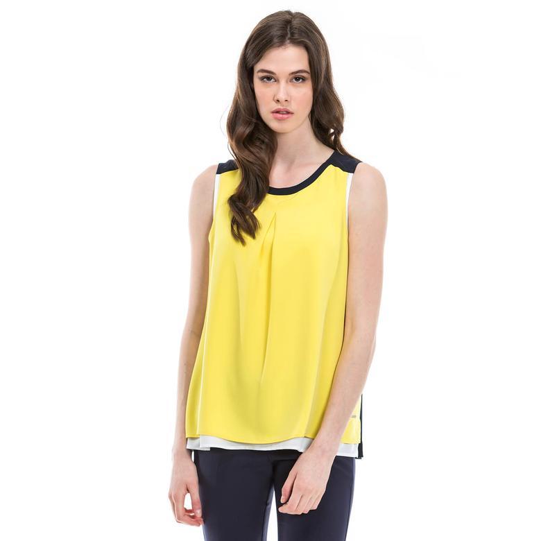 Nautica Kadın Sarı T-Shirt
