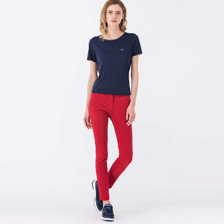 Lacoste Sportswear Kadın Kırmızı Pantolon
