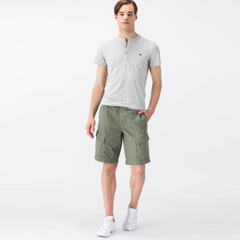 Lacoste Erkek Yeşil Şort