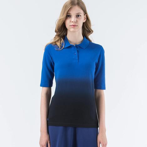 Lacoste Degrade Kadın Mavi Polo