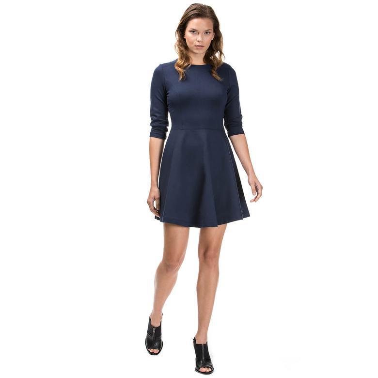 Nautica Kadın Lacivert Regular Fit Elbise