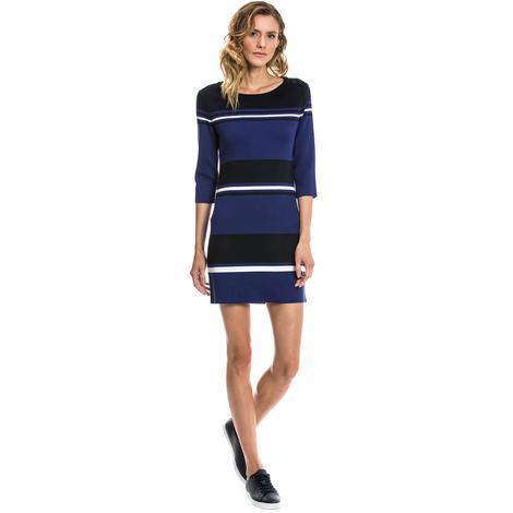 Nautica Kadın Mavi Regular Fit Elbise