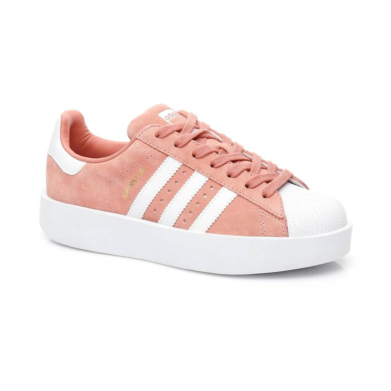 adidas Superstar Kadın Turuncu Sneaker