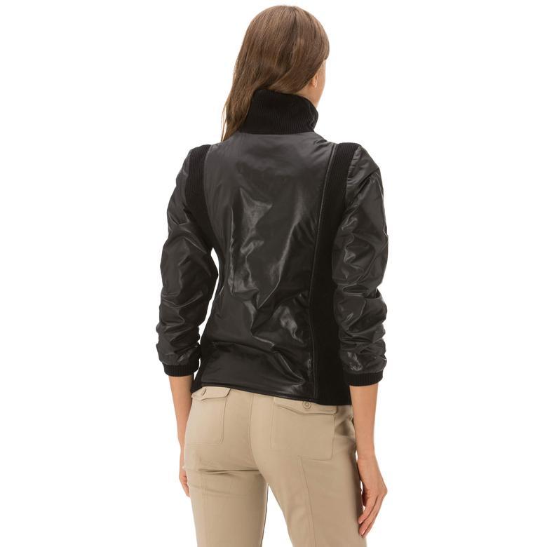 Lacoste Kadın Siyah Sweatshirt