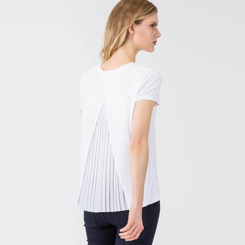 Lacoste Kısa Kollu Beyaz Tshirt