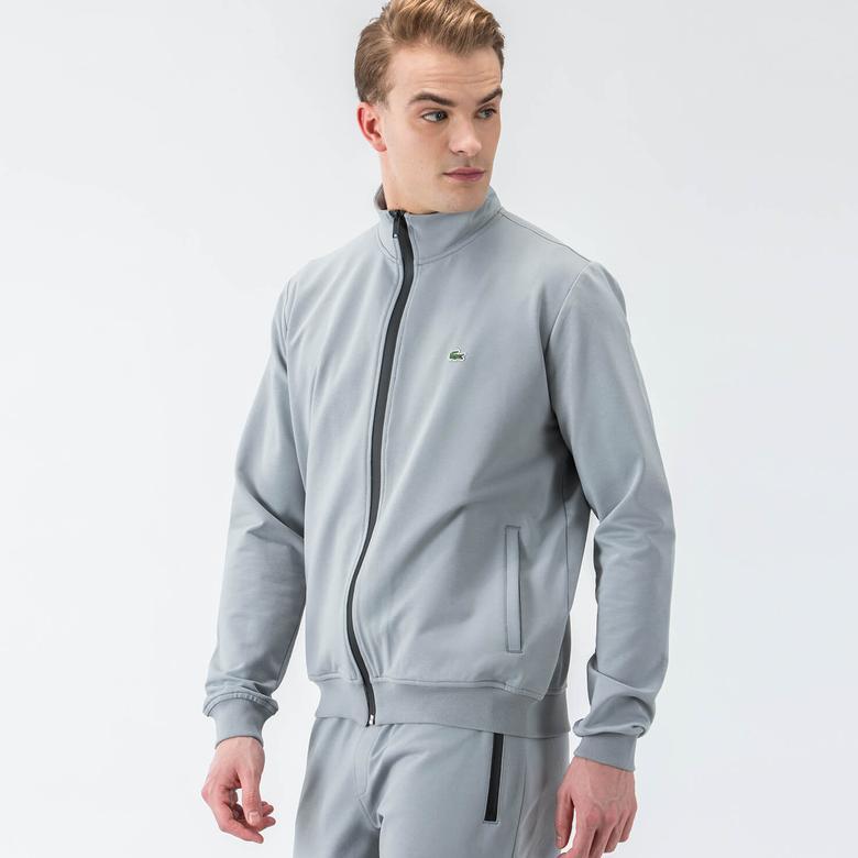 Lacoste Gri Erkek Sweatshirt