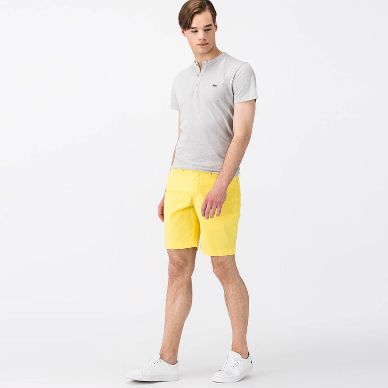 Lacoste Erkek Sarı Şort