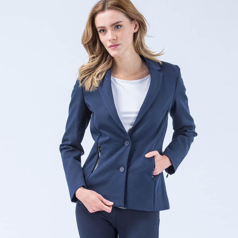 Lacoste Kadın Lacivert Ceket