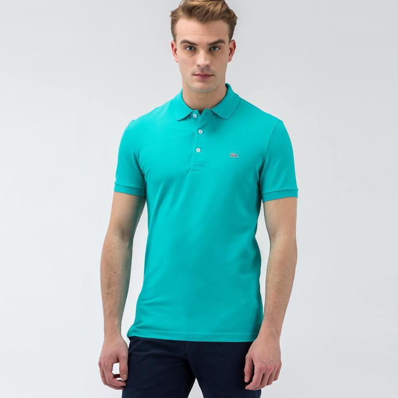 Lacoste Kısa Kollu Erkek Mavi Polo
