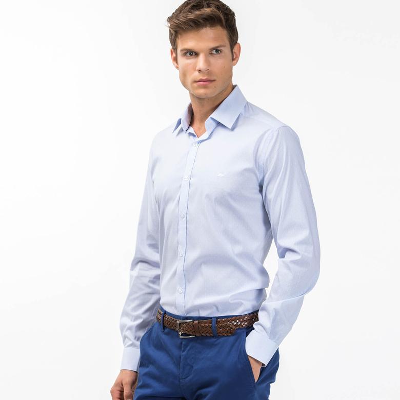 Lacoste Erkek Açık Mavi Gömlek