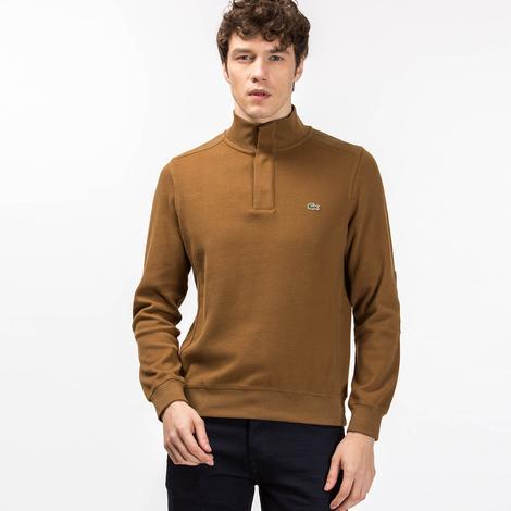 Lacoste Erkek Kahverengi Sweatshirt