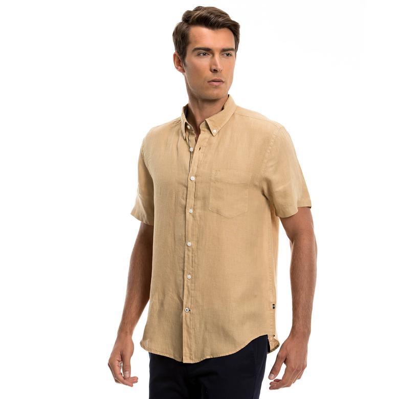 Nautica Erkek Bej Gömlek