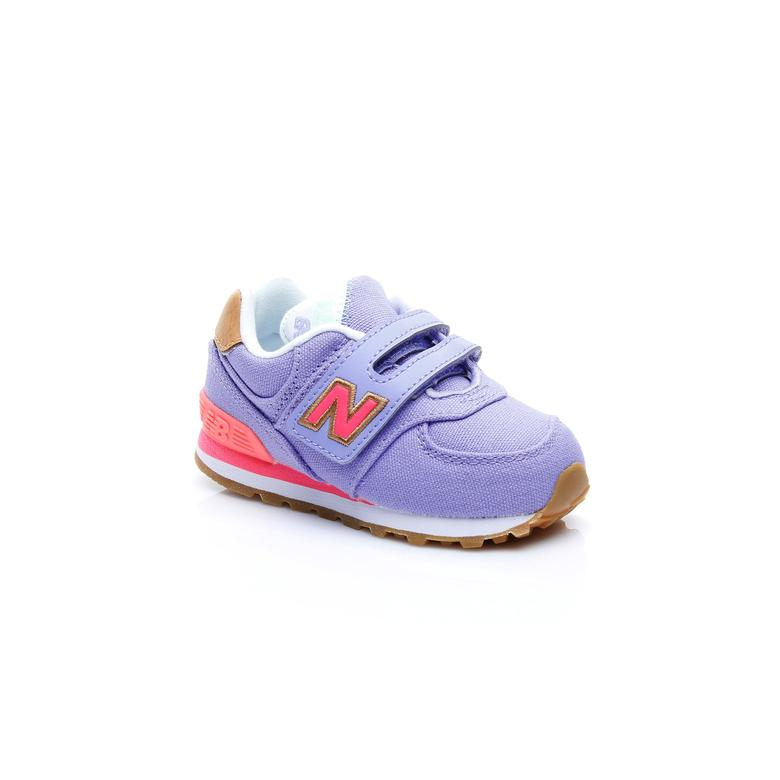 New Balance 574 Çocuk Mavi Sneaker