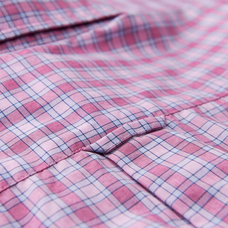 Gant Erkek Pembe Uzun Kollu Regular Fit Gömlek
