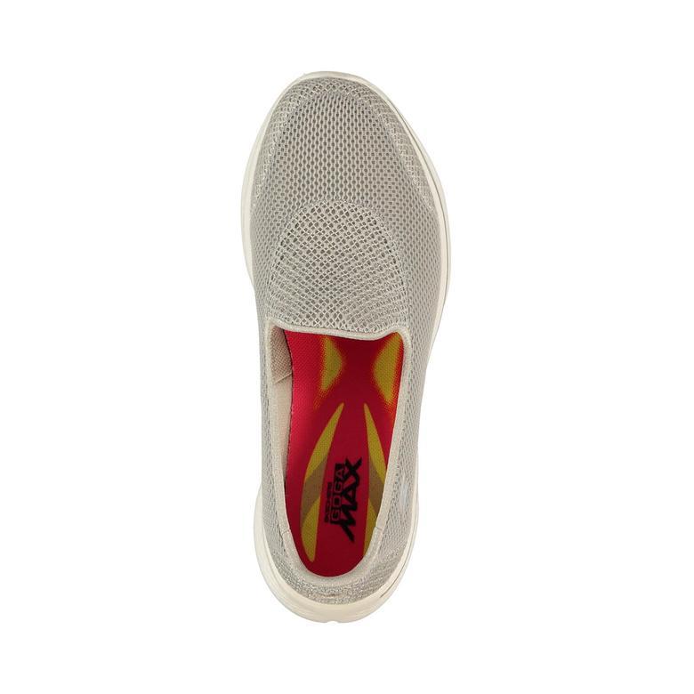 Skechers Go Walk 4 Kadın Bej Sneaker