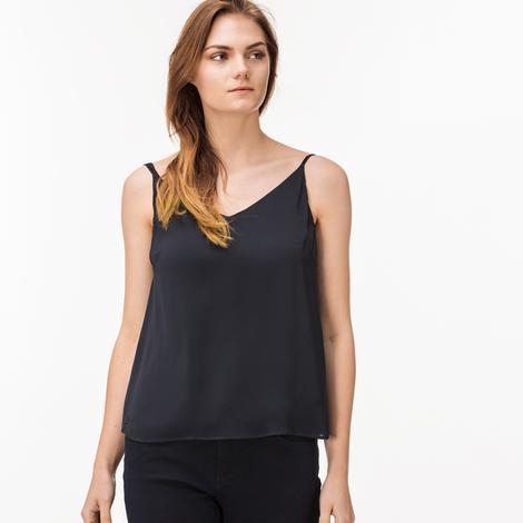 Lacoste Kadın Lacivert Askılı Bluz