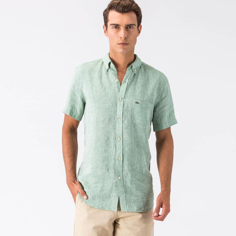 Lacoste Erkek Yeşil Gömlek