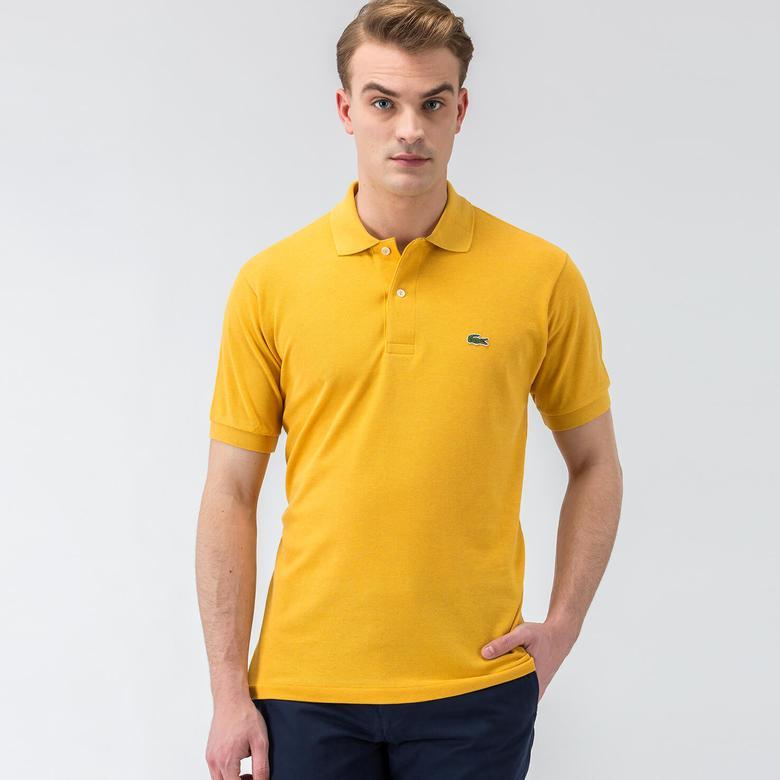 Lacoste Sarı Kısa Kollu Erkek Polo