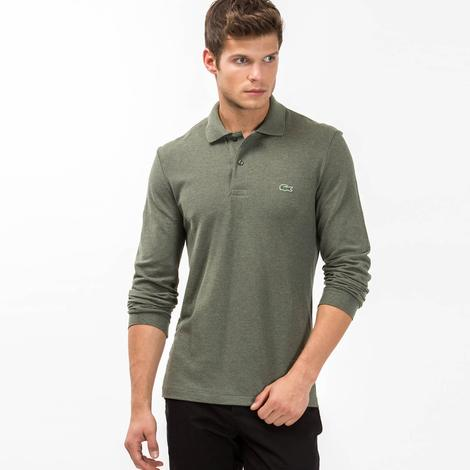 Lacoste Erkek Haki Regular Fit Polo