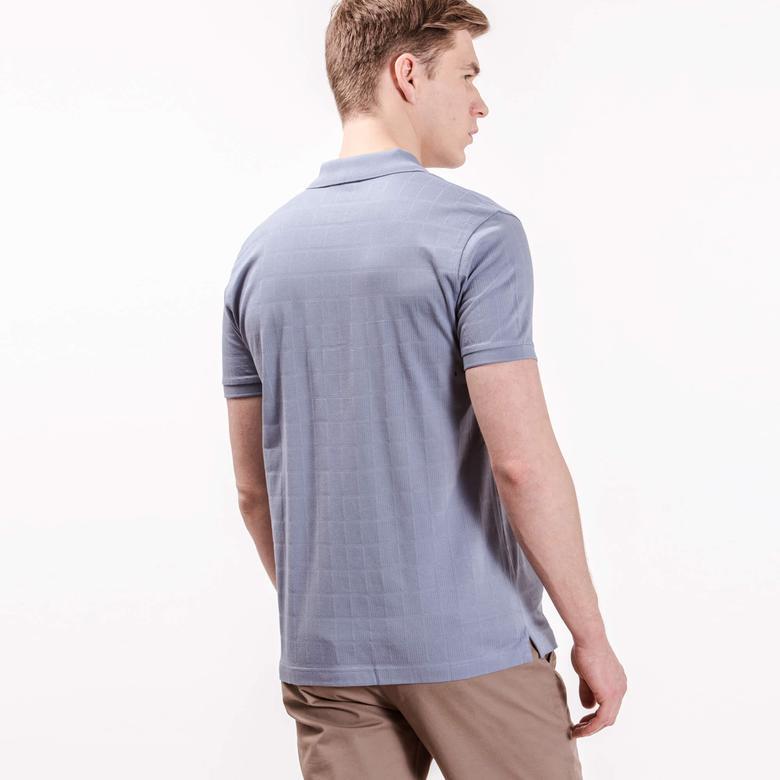 Lacoste Erkek Mavi Regular Fit Kısa Kollu Polo