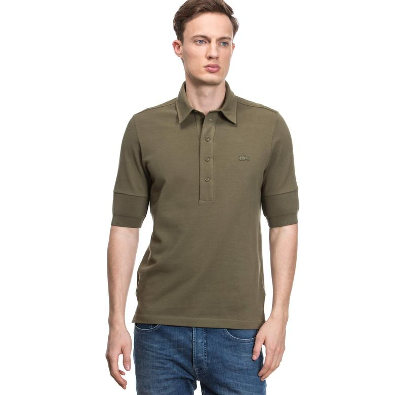 Lacoste Erkek Yeşil Kısa Kollu Polo