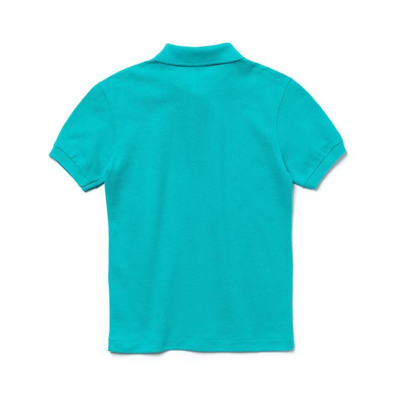 Lacoste Çocuk Mavi Kısa Kollu Polo