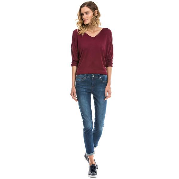 Nautica Kadın Mavi Slim Fit Jean