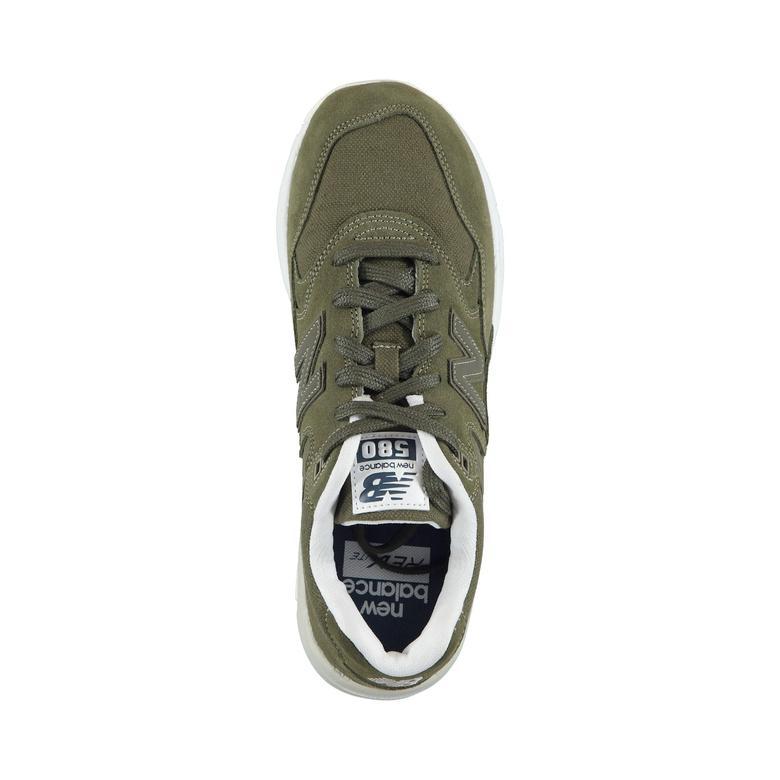 New Balance 580 Erkek Yeşil Spor Ayakkabı