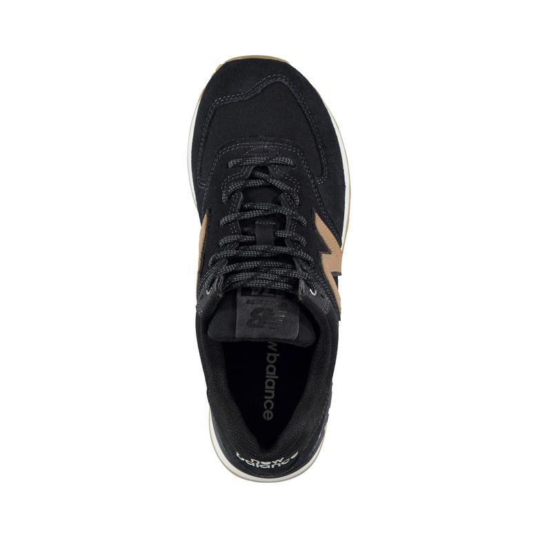New Balance 574 Kadın Siyah Sneaker