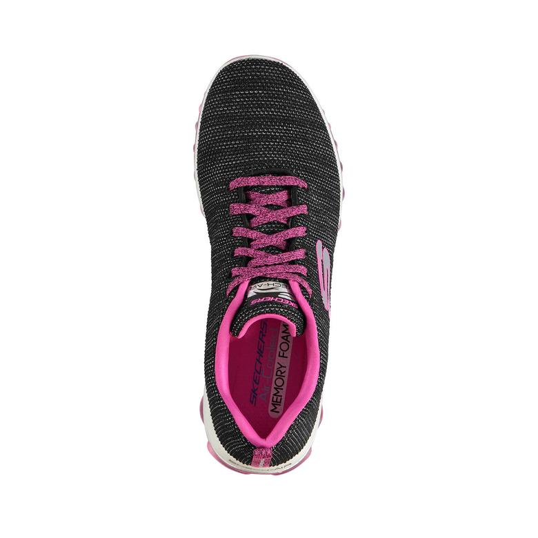 Skechers Skech-Air 2.0 Kadın Siyah Sneaker