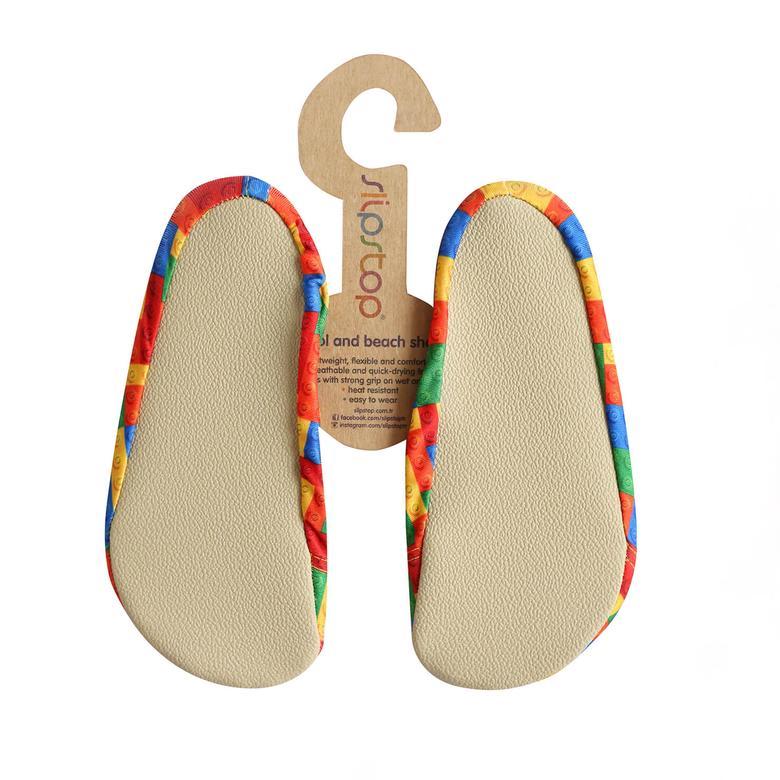 Slipstop Lego Çocuk Renkli Havuz Ayakkabısı