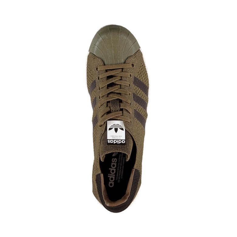 adidas Superstar 80S Primeknit Erkek Kahverengi Sneaker